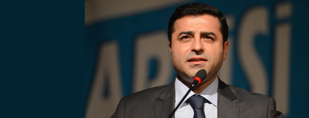 Demirtaş: The plot hatched against the HDP over Kobani