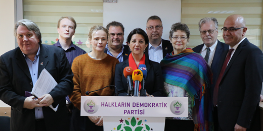 International Peace Delegation: Isolation of Abdullah Öcalan must end