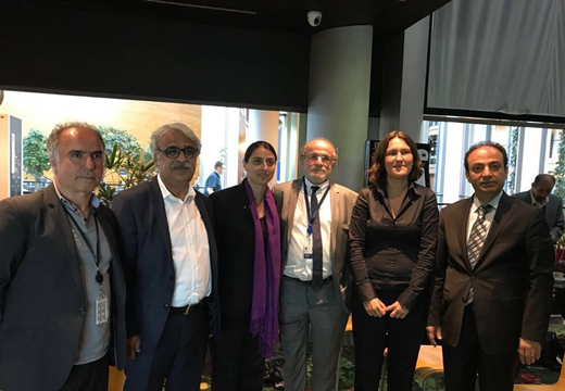 HDP delegation continues to pay official visits in Strasbourg